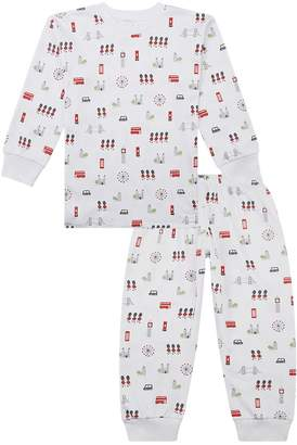 Kissy Kissy London Print Pyjamas