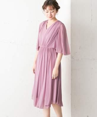 Couture MAISON ソデフレアエスパンディワンピース