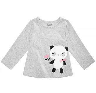 First Impressions Toddler Girls Panda Graphic Cotton Shirt, Created for Macy's