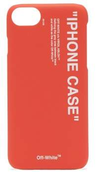 Off-white - Quote Iphone 8® Case - Mens - Red White
