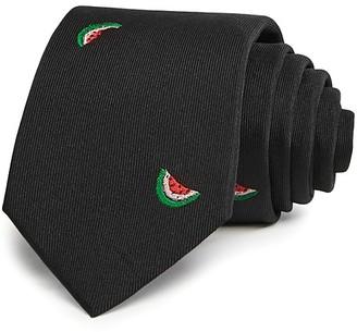 Paul Smith Watermelon Neat Skinny Tie $125 thestylecure.com