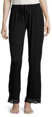 Flora Nikrooz Lace-Trimmed Lounge Pants