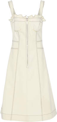 Sea Kamille Sleeveless Corset Stretch Cotton Dress