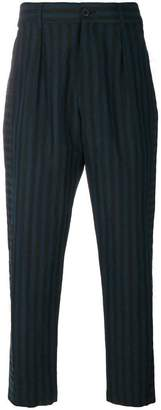 Damir Doma striped cropped trousers