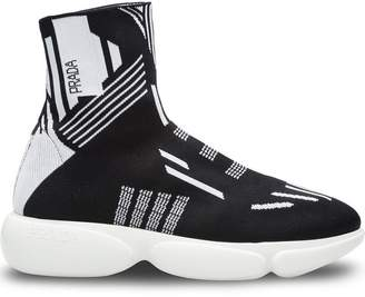 Prada Cloudbust hi-top sneakers