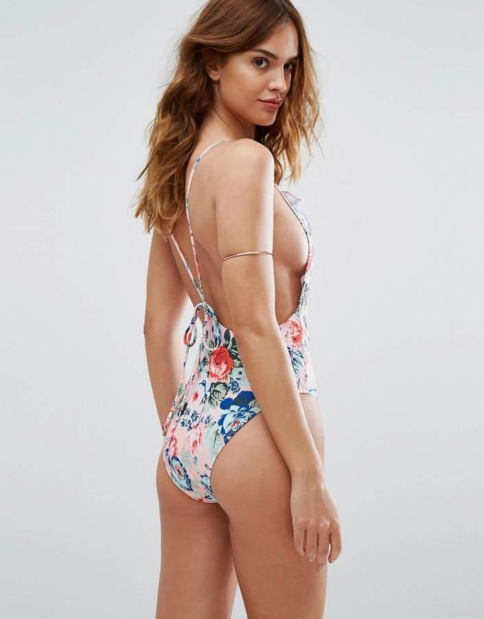 Motel Floral Swimsuit
