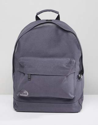 Mi-Pac Canvas Backpack In Charcoal