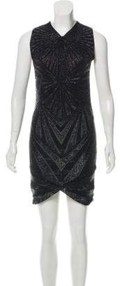 Jasmine Di Milo Beaded Mini Dress