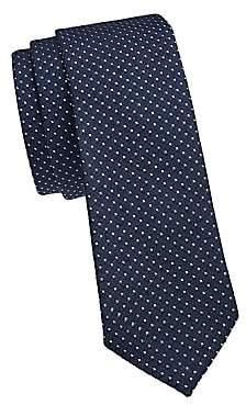 Ermenegildo Zegna Men's Micro Dot Silk Tie
