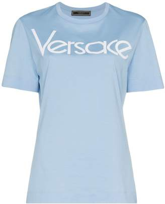 Versace appliqué logo T-shirt