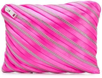 Alexander Wang zip detail pouch