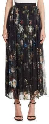 ADAM by Adam Lippes Floral Chiffon Skirt