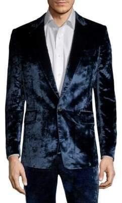 Paul Smith Crushed Velvet Jacket