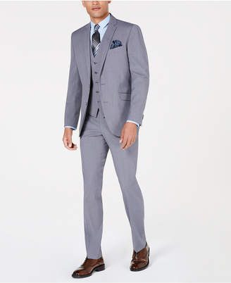 Kenneth Cole Reaction Men Slim-Fit Techni-Cole Suit