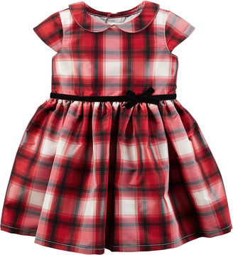 CARTERS Carter's Short Sleeve Babydoll Dress - Baby Girls $40 thestylecure.com