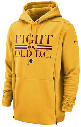 Nike Men's Washington Redskins Sideline Player Local Therma Hoodie