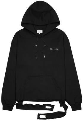 Collina Strada Black Embellished Cotton