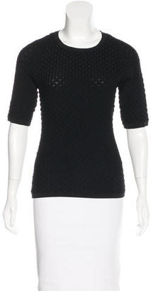 Reiss Textured Knit Top $80 thestylecure.com