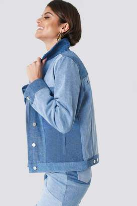 R & E Andrea Hedenstedt X Na Kd Re Done Denim Jacket