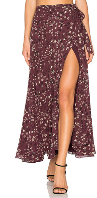 House of Harlow x REVOLVE Willow Skirt $170 thestylecure.com