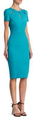 Zac Posen Cutout Midi Dress