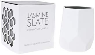 D.L. & Co. Jasmine Slate Ceramic Candle (8OZ)