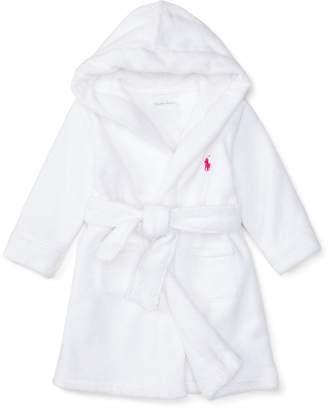 Ralph Lauren Hooded Cotton Terry Robe