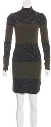 A.L.C. Wool Metallic Sweater Dress
