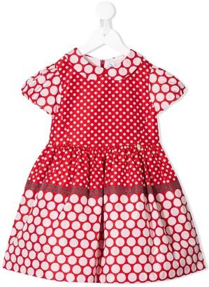 Simonetta polka dot pattern dress