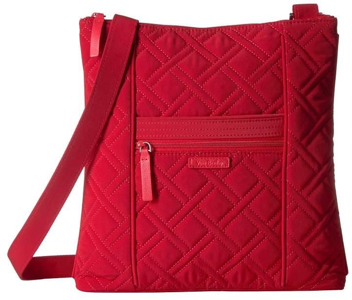 Vera Bradley Hipster Cross Body Handbags - CARDINAL RED - STYLE