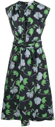Christian Wijnants floral print midi skirt