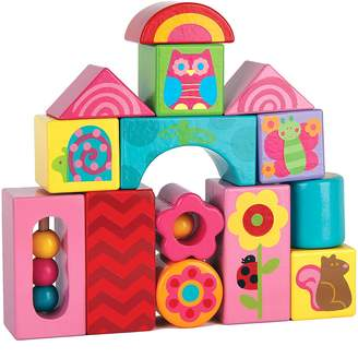 Stephen Joseph Owl Wooden Blocks
