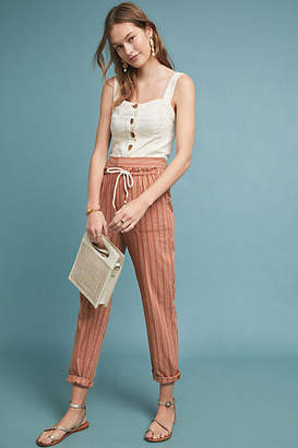 Anthropologie Seashore Striped Pants