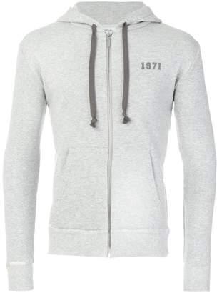 Saint Laurent 1971 zip hoodie
