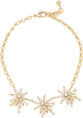Lulu Frost Nova Star Gold-Plated Brass and Glass Pearl Necklace