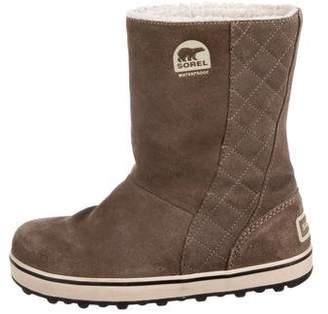 Sorel Round-Toe Waterproof Boots