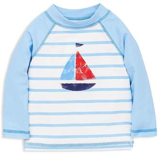638a77cca4 Little Me Boys' Sailboat UPF 50+ Rash Guard Top - Baby