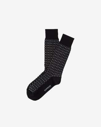 Express Micro Dot Print Dress Sock
