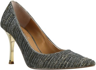 J. Renee Ginesia Crystal Embellished Pointed Toe Pump