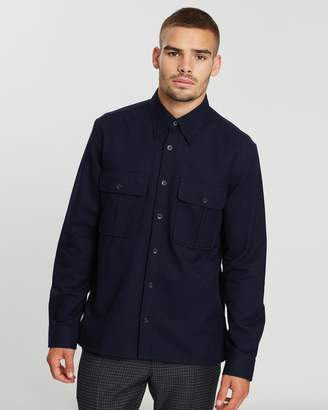 Ben Sherman Long Sleeve Utility Shirt