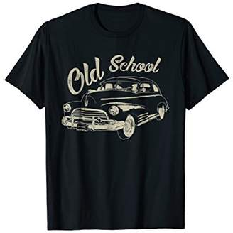 Classic Vintage Car Old School T-shirt