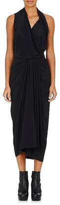 Rick Owens Women's Sleeveless Wrap Dress