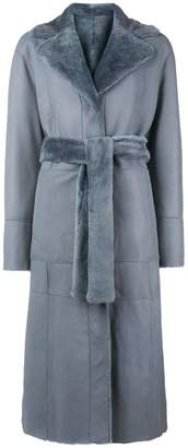 Drome belted reversible coat