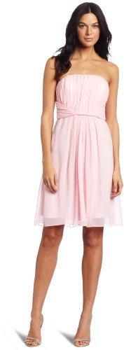 Donna Morgan Women's Ruched Strapless Dress
