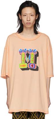 Maison Margiela Pink M Logo T-Shirt