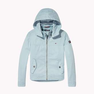 Tommy Hilfiger TH Kids Cotton Twill Hoodie