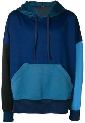 À La Garçonne color-blocked hoodie