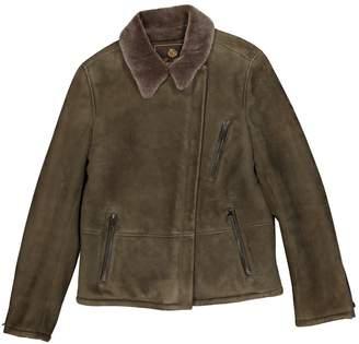 Loro Piana Green Suede Jacket for Women