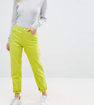 Asos ORIGINAL MOM JEANS In Neon
