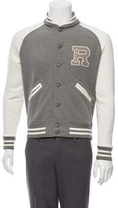 Ralph Lauren Purple Label Colorblock Varsity Jacket w/ Tags